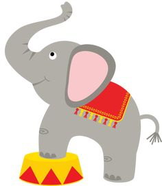 Circus clipart baby elephant in baby circus elephant clipart collection - ClipartXtras Circus Carnival Party, Carnival Birthday Parties, Carnival Themes, Circus Birthday, Circus Theme, Birthday Party Themes, Clown Crafts, Circus Crafts, Micro Creche