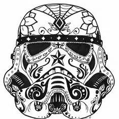 star wars stormtrooper mexican sugar skull tattoo on foot photo it is a complex three dimensional deformity on an x ray viewed from the
