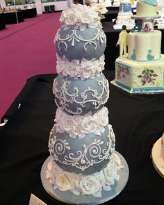 Love the balls and that this so nice the scrolls, and flowers to die for!   NEC 2012 271