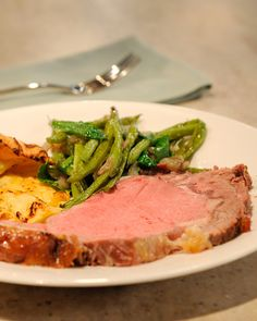 Nothing says celebration like a grand beef roast at the center of the dinner…