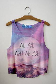 We are who we are :)