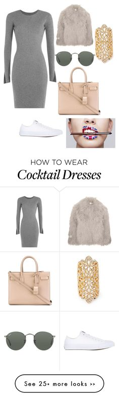 """""""Untitled #102"""" by yari-port on Polyvore featuring Forever 21, Alexander Wang, Converse, Yves Saint Laurent, STELLA McCARTNEY and Ray-Ban"""