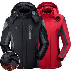 Outdoor Hiking Thermal Jacket Regular Price: $122.94 Sale Price: $63.93 & FREE Shipping