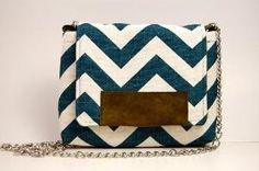 chevron patterned purse!