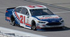 Ryan Blaney's 2017 Ford Motorcraft Kyle Petty Tribute - Photo by Alan Wiltsie Kyle Petty, Ryan Blaney, Nascar Race Cars, Drag Cars, Paint Schemes, Auto Racing, Track, Ford, Runway