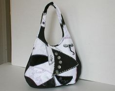 A personal favorite from my Etsy shop https://www.etsy.com/listing/175599096/crazy-patchwork-shoulder-bag-in-black