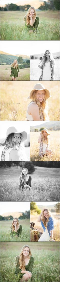 High School Senior Girl Poses