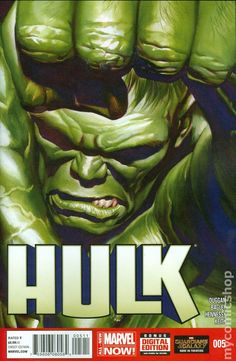 Hulk (2014 2nd Series) 5 marvel Comic book cover art