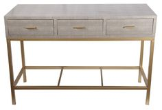 Bethany Console Table, Gray --  perfection on OKL