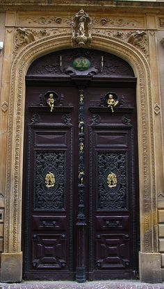 Metz, France.  I remember seeing this door and being so completely overwhelmed by its beauty.