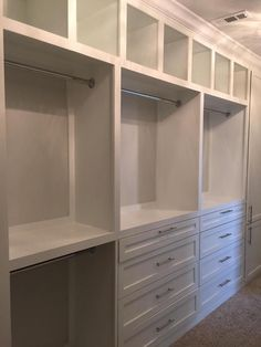 Custom closet ideas storage ideas master closet nashville built in furniturebybrad closet Master Closet Design, Walk In Closet Design, Master Bedroom Closet, Closet Designs, Diy Bedroom, Custom Closet Design, Bedroom Closets, Bedroom Wardrobe, Closet Redo