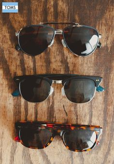 New fall eyewear from TOMS means you have more reasons to give back to those in need.