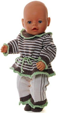 Poppenkleren breien - Uw pop zal er zo schitterend uitzien in haar nieuwe kleding