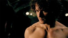 We Need To Talk About Sam Heughan --- Right now! *thud* We need to talk about every single scene he's ever been in ever.