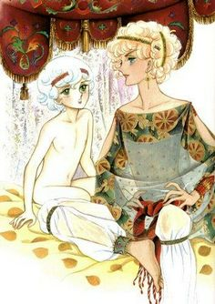 le bruit de mon coeur, More illustrations by Keiko Takemiya for JUNE...