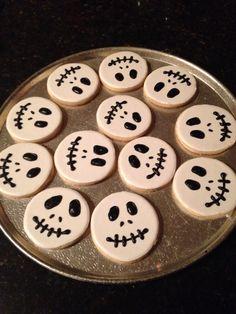 Spooky cookies.