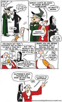 Snape's an ass