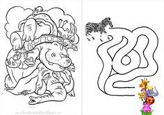 13 Melhores Imagens De Livrinho Para Colorir Safari Safari