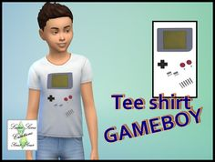 Tee shirt GAMEBOY - LUna Sims