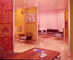Braniff International Lounge, 1967