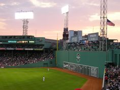 Go to a game with my Husband, Dave at Fenway Park - and we must, must, must sit on the Red Sox/green monster - good times! Fenway Park, Places Ive Been, Places To Go, Sports Sites, Mlb Stadiums, Baseball Park, Red Sox Nation, National Stadium, Sports Stadium