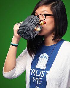 Brick Mug – Un mug LEGO à customiser pour le petit-dej