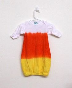 Newborn halloween costume - would be cute if I didn't hate candy corn so much