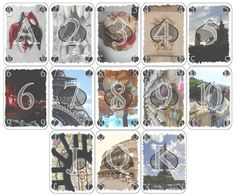 The brief was to create a set of playing cards. Playing Cards, Playing Card Games, Game Cards, Playing Card