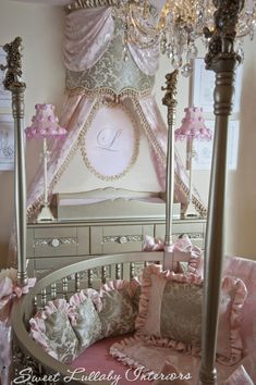 London's nursery! Custom designed by Cheryl of Sweet Lullaby in Wyckoff NJ 201-485-7571