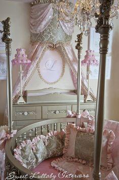 London's nursery! Custom designed by Cheryl of Sweet Lullaby in Wyckoff NJ 201-485-7571