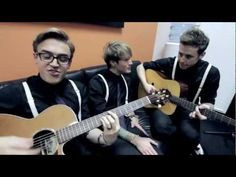 McFLY - No Worries (acoustic). Like 9 years later and they still can't do anything serious