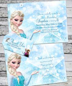 Disney Frozen Birthday Party Invitation and by RoyaltyInvitations, $7.95