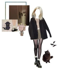 """""""Untitled #195"""" by trigga ❤ liked on Polyvore featuring Andrew Gn, Miu Miu, Retrò, Barbour and The French Bee"""