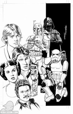 Star Wars 1 Mike Meyhew Zapp Comics