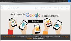 Mobil Web Site Tasarımının Önemi http://cgnyazilim.com/blog/mobil-web-sitesi-tasariminin-onemi/