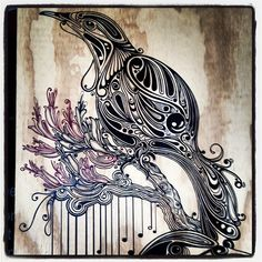 Tui by Kylie Haynes from Momentum Gallery Auckland