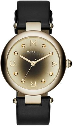 Marc Jacobs Watch Dotty D #60-percent #add-content #bezel-fixed #bracelet-strap-leather #brand-marc-jacobs #case-material-yellow-gold-pvd #case-width-34mm #delivery-timescale-call-us #dial-colour-gold #discontinued #fashion #gender-ladies #movement-quartz-battery #official-stockist-for-marc-jacobs-watches #packaging-marc-jacobs-watch-packaging #sale-item-yes #style-dress #subcat-dotty #supplier-model-no-mj1409 #warranty-marc-jacobs-official-2-year-guarantee #water-resistant-50m
