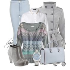 """A Blouse And A Sweater"" by dgia on Polyvore"