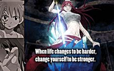 Erza from Fairy Tail Fairy Tail Family, Fairy Tail Love, Fairy Tail Ships, Fairy Tail Anime, Sad Fairy, Nalu, Jerza, Natsu Y Lucy, Jellal And Erza