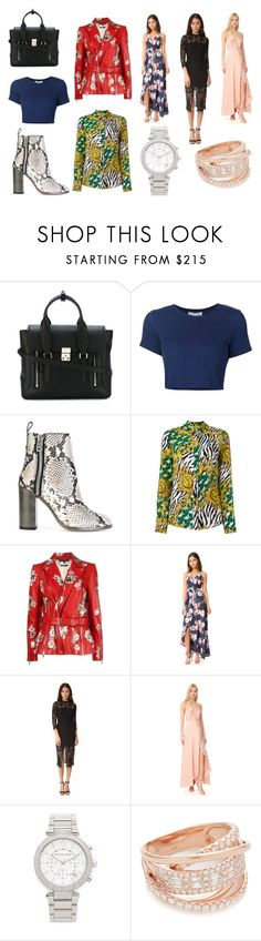 """""""Birthday Gifts"""" by donna-wang1 ❤ liked on Polyvore featuring 3.1 Phillip Lim, Sea, New York, Diesel, Versace, Alexander McQueen, Yumi Kim, Michael Kors, Shay and vintage"""