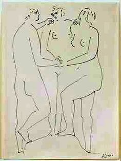 Pablo Picasso, 'The Three Graces,' ca. 1923, Barbara Mathes Gallery, Picasso