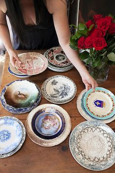 Antique China, would be wonderful to have varied collection rather than one set