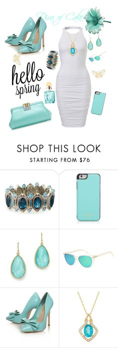 """""""Summer outfit"""" by Diva of Cake on Polyvore featuring Konstantino, Kate Spade, Tiffany & Co., Ippolita, L.G.R, Carvela Kurt Geiger and Miu Miu"""