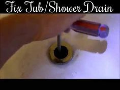 DIY How to fix a leaky drain in the shower/tub-Basic Instructional Tutor...