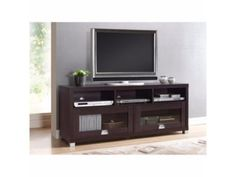 65-039-039-TV-Stand-Entertainment-Media-Center-Home-Theater-Console-Wood-Furniture