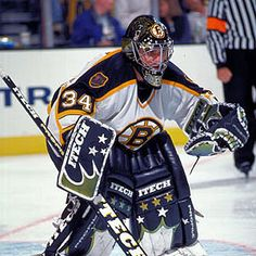 Boston Bruins Goalies, Nhl, Samurai, Motorcycle Jacket, Hockey, Field Hockey, Samurai Warrior, Ice Hockey