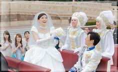 東京ディズニーランド シンデレラ城でのウェディング   ディズニー・フェアリーテイル・ウェディング Disney Fairy Tale Weddings at Tokyo Disneyland Cinderella Castle