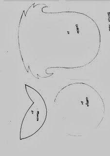 Turminha do Yuri: Capas de Caderno com Molde: Menina (EVA)