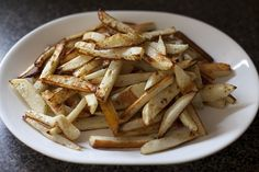 """even though I don't usually feel guilt when eating french fries--I could go for some """"guilt-free"""" fries"""