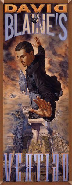 David Blaine Vertigo poster